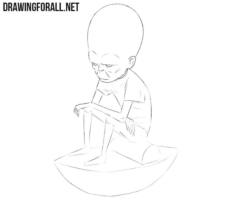 The Mekon drawing tutorial