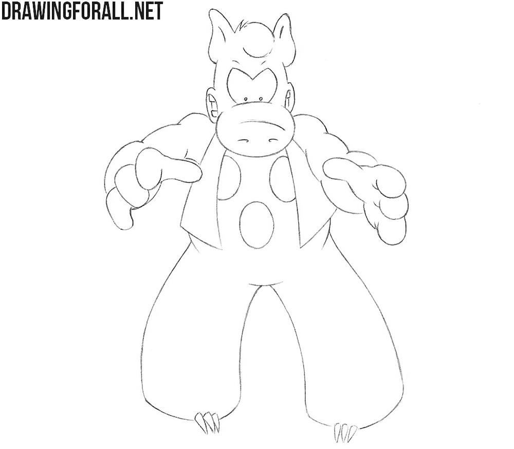 Cerebus drawing tutorial