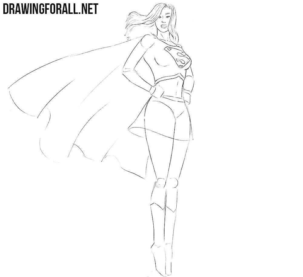 Supergirl art