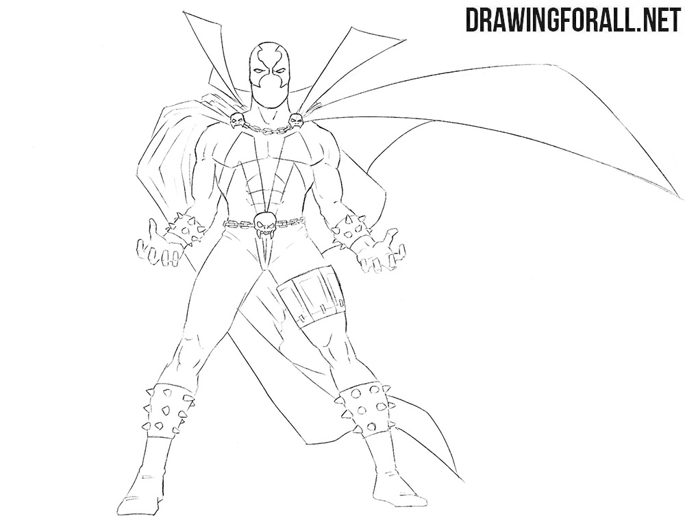 How to draw Spawn