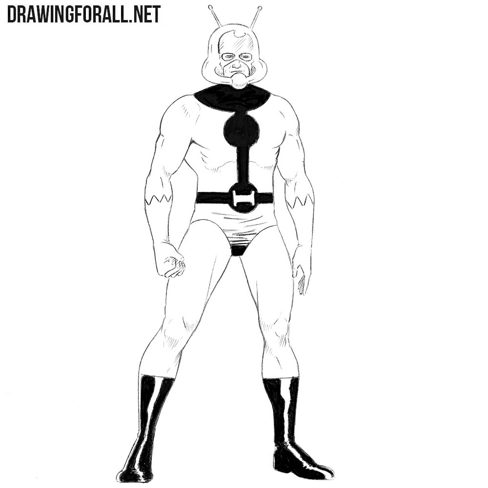 how to draw ant man drawingforall net