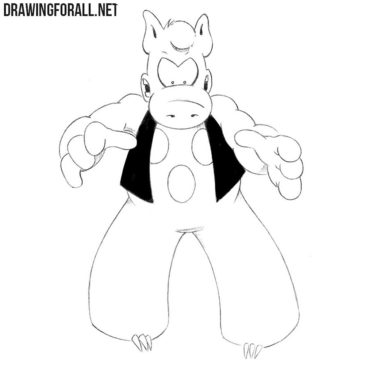 How to Draw Cerebus the Aardvark