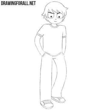 How to Draw Scott Pilgrim