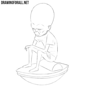 How to Draw The Mekon