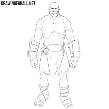 How to Draw a Super Mutant
