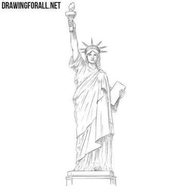 How to Draw the Statue of Liberty