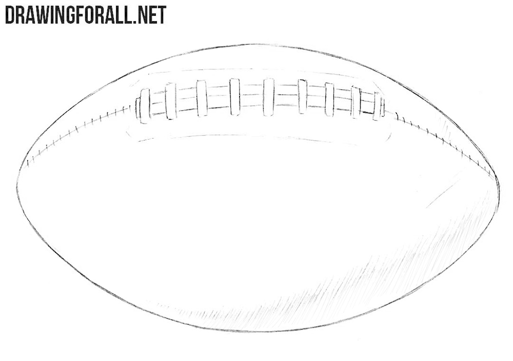 How To Draw An American Football Drawingforall Net