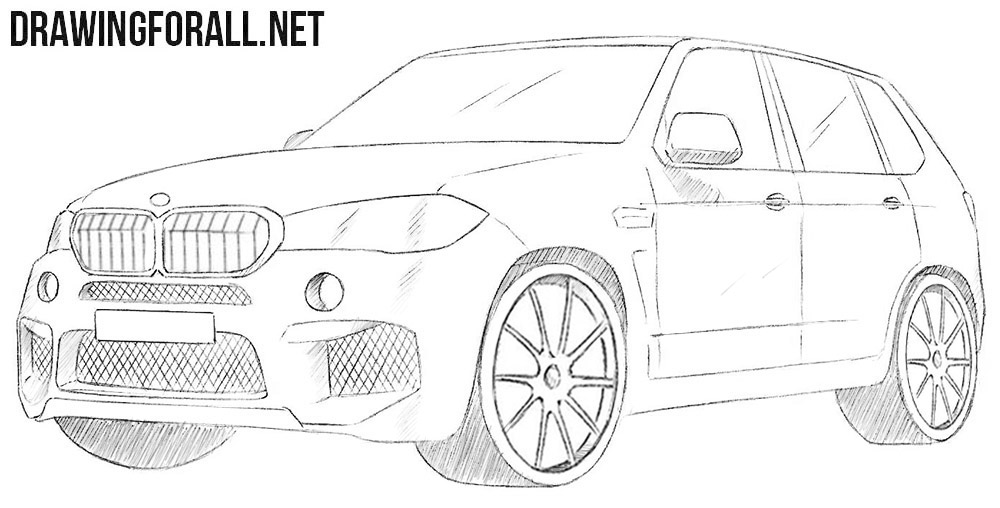 BMW X5 drawing