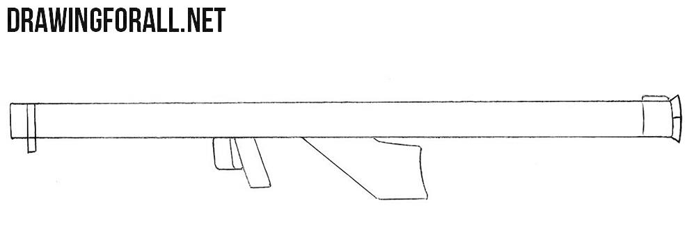 Bazooka drawing