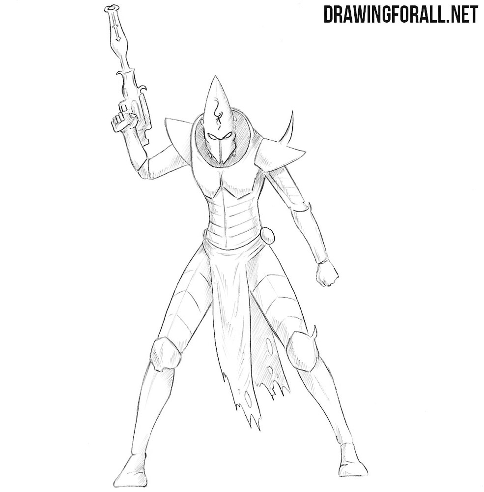 Dark eldar drawing