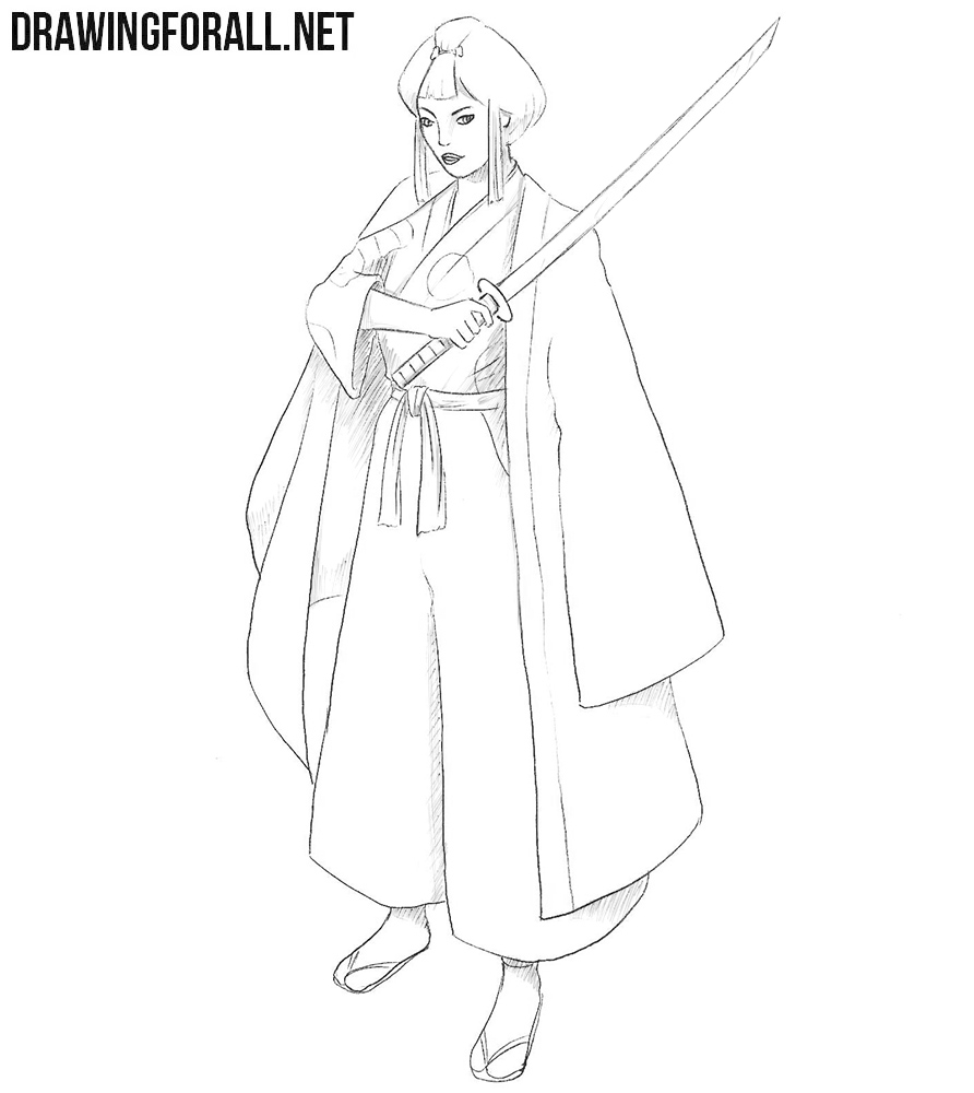 Lady Eboshi drawing