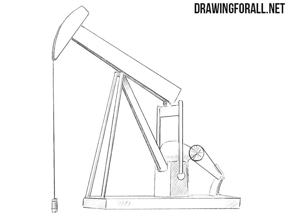 Oil well drawing tutorial