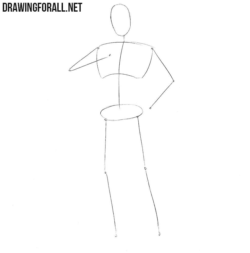 How to draw Judge Dredd