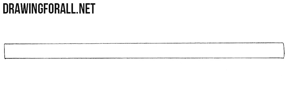 how to draw a bazooka