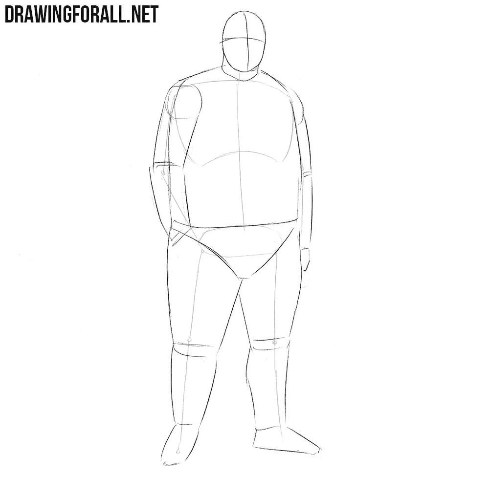 How to draw Biggie Smalls rapper