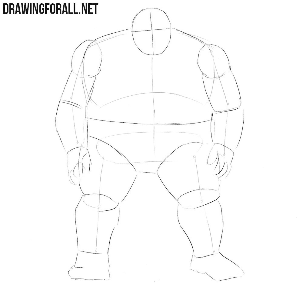 How to draw Blob from Comics