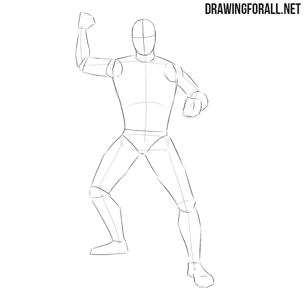 Learn how to draw a ninja