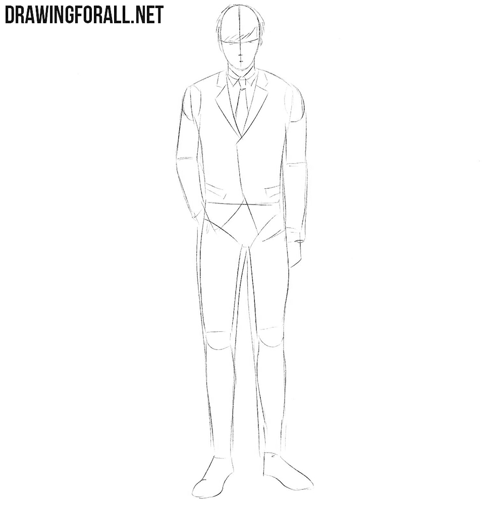 How to draw Koutarou Amon from Tokyo Ghoul