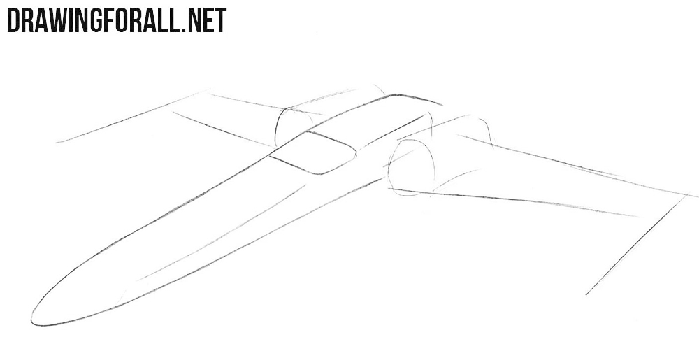 Space ship drawing tutorial