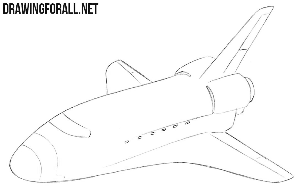 Shuttle drawing tutorial