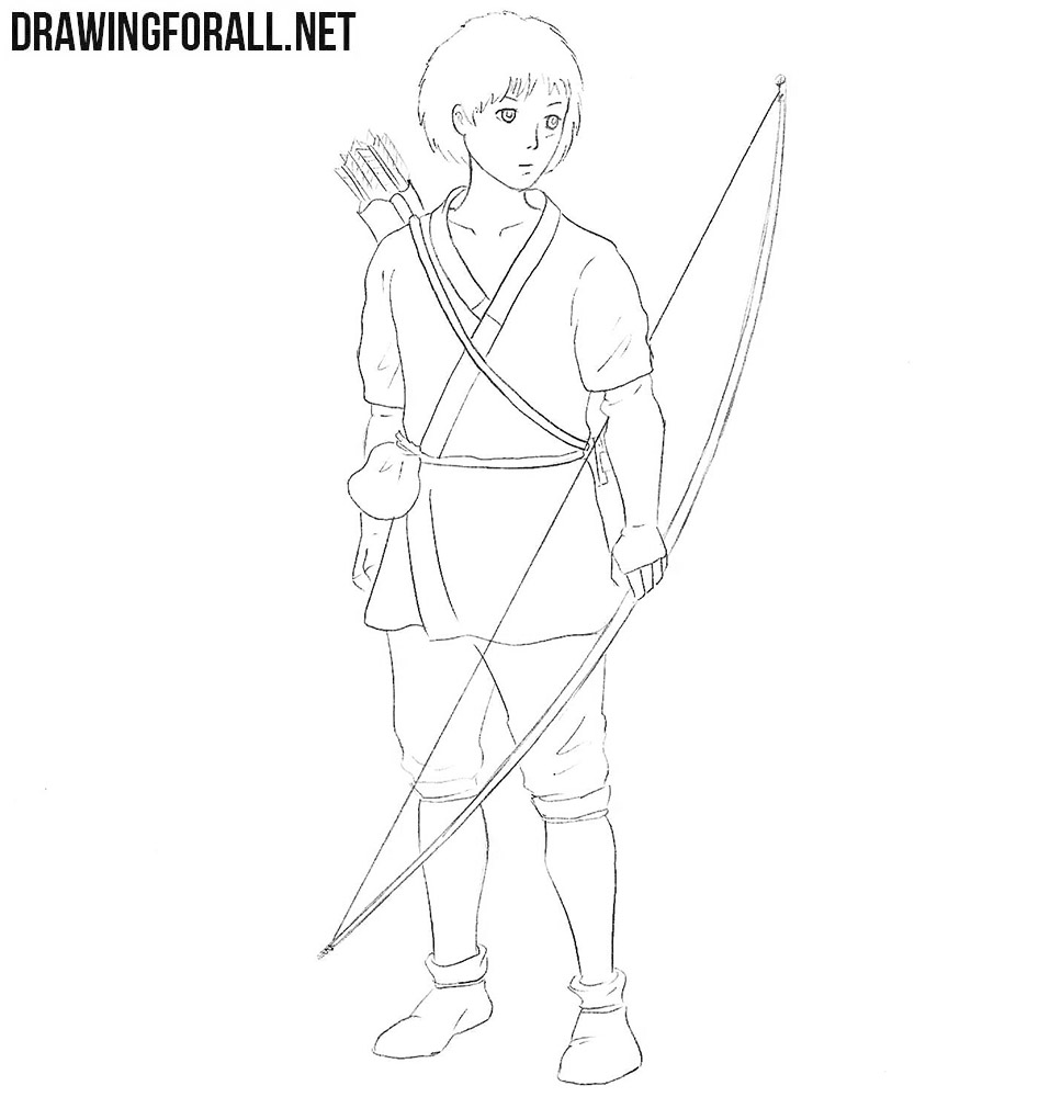 Ashitaka drawing tutorial