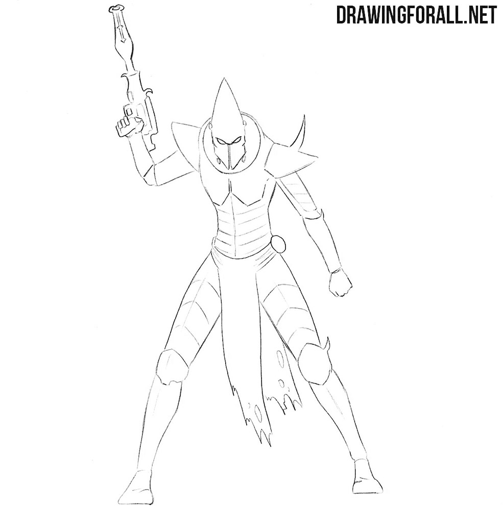 Dark eldar drawing tutorial