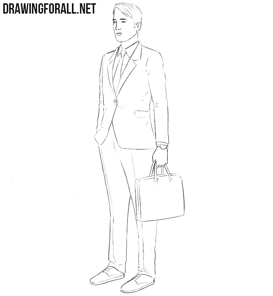 Insurance agent drawing tutorial
