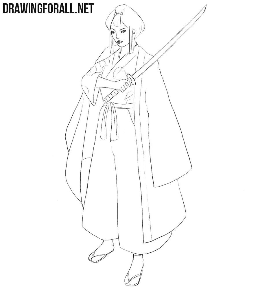 Lady Eboshi drawing tutorial