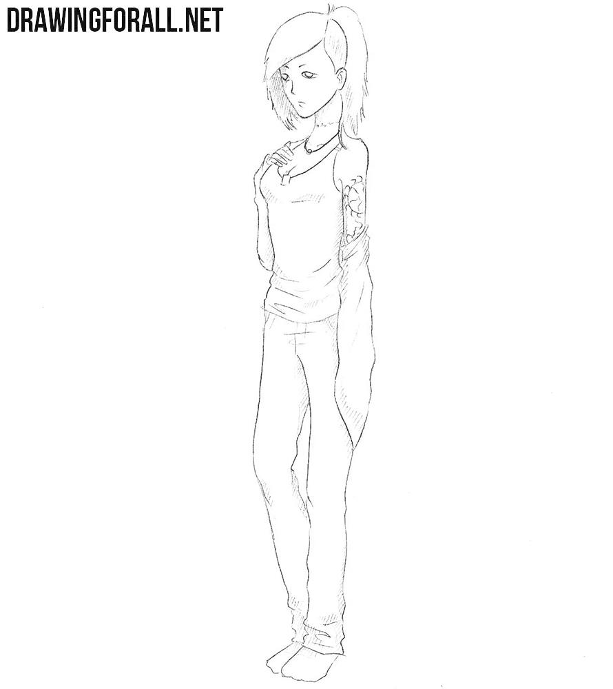 How to draw Uta
