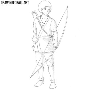 How to Draw Ashitaka