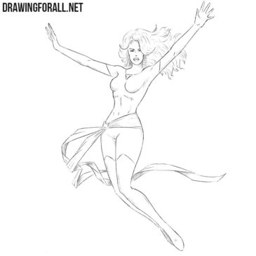 How to Draw Jean Grey