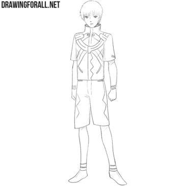 How to Draw Ken Kaneki