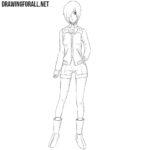 How to Draw Touka Kirishima