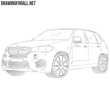 How to Draw a BMW X5