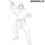 How to Draw a Ninja for Beginners