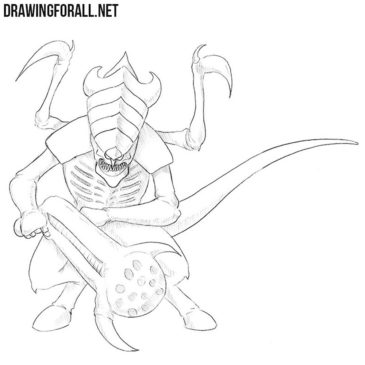 How to Draw a Tyranid