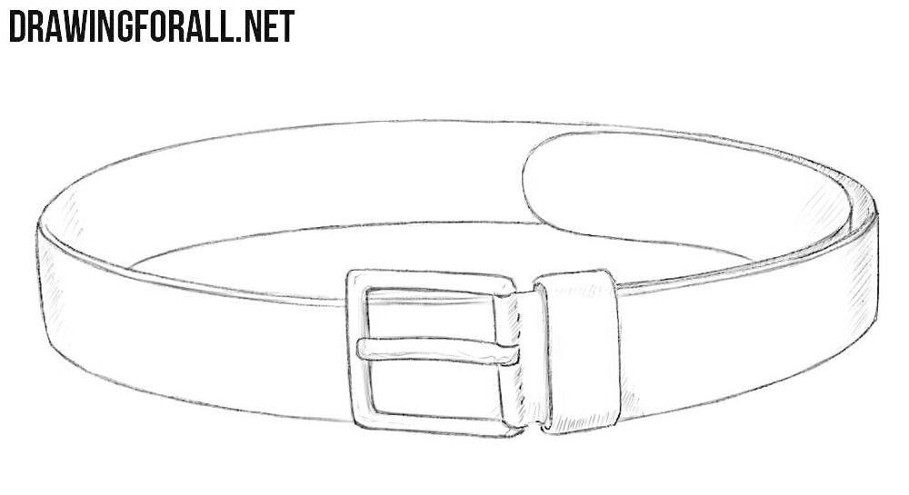 Belt drawing