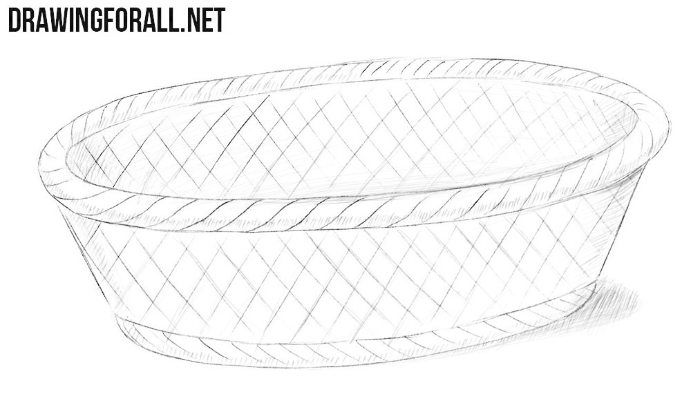 Bread basket drawing