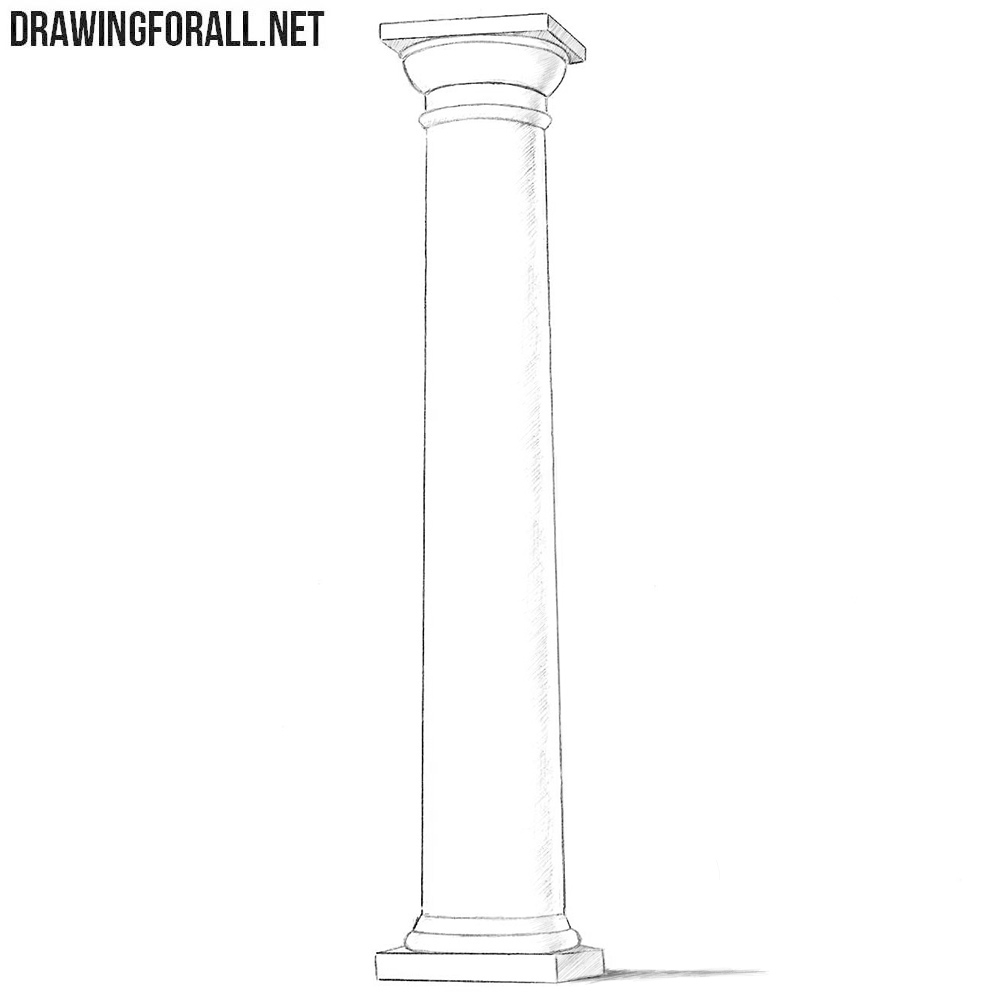 Column drawing tutorial