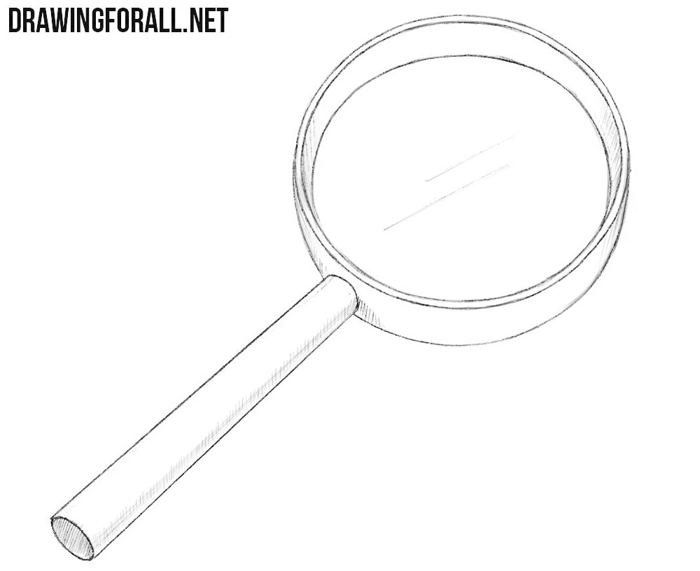 Magnifier drawing