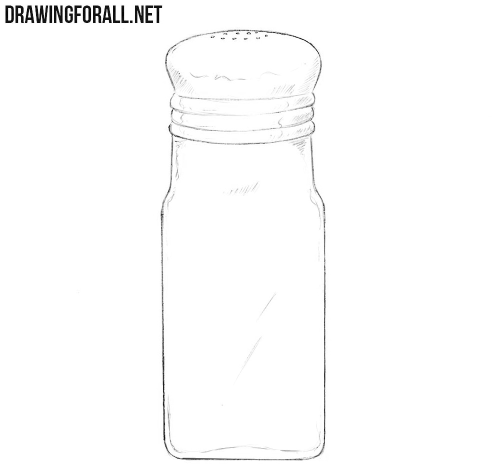 Salt shaker drawing