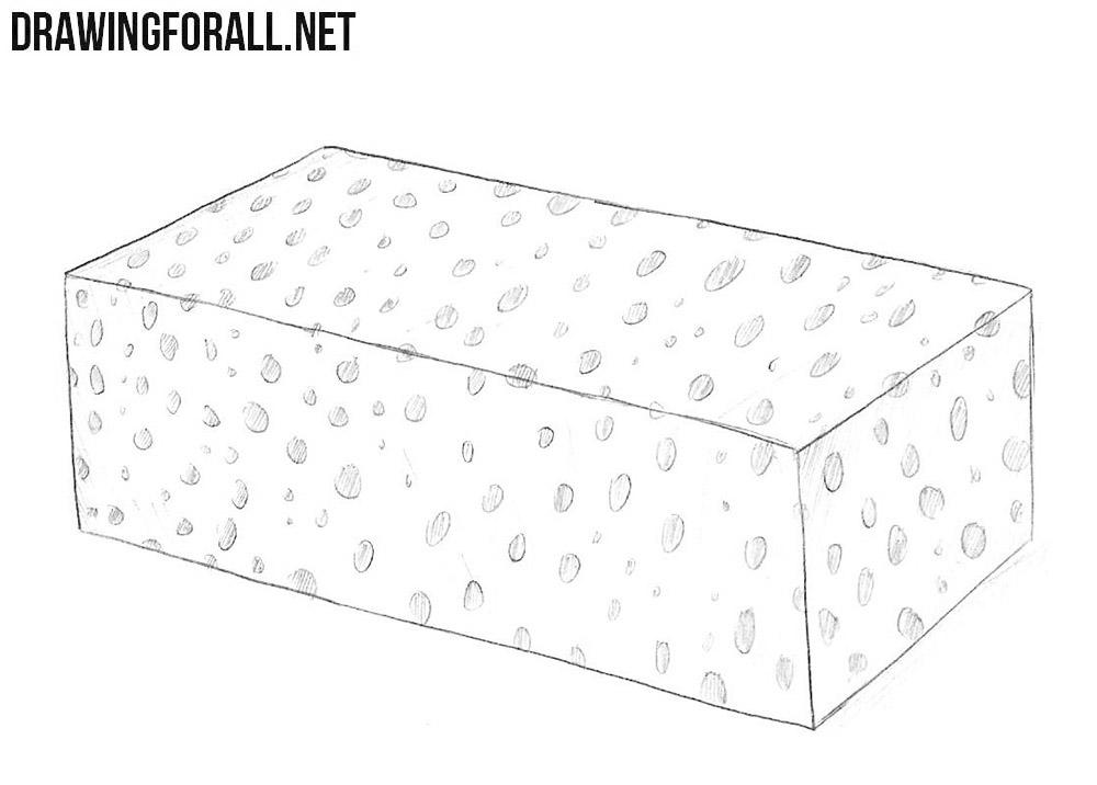 Sponge drawing