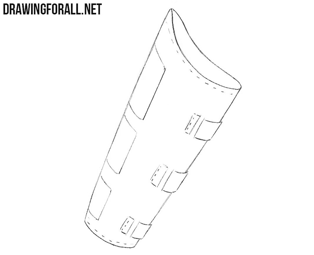 How to draw a bracer easy