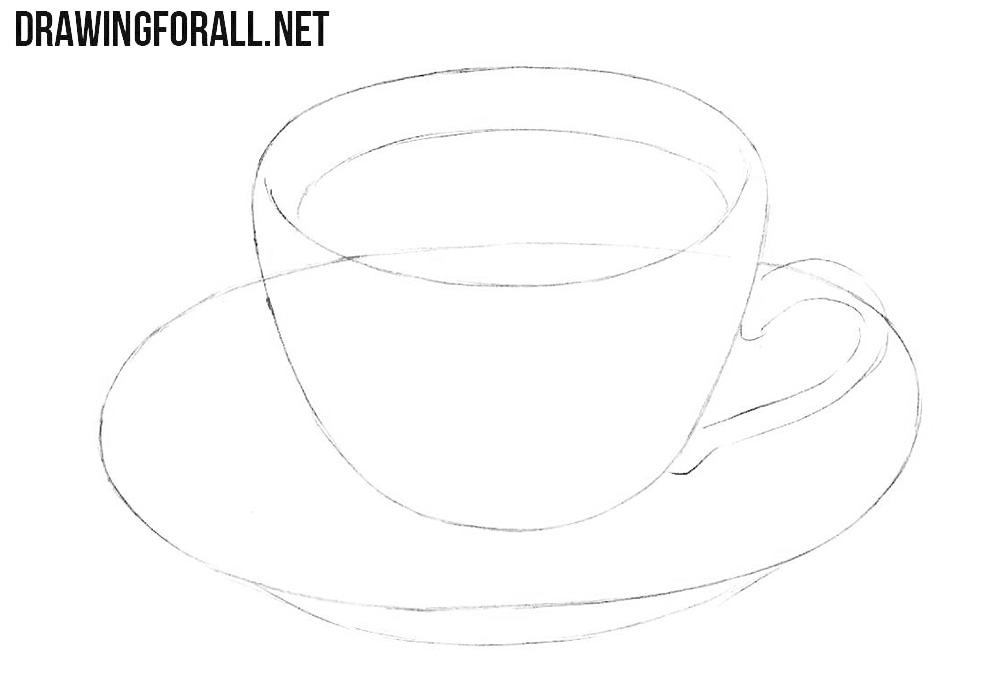 Learn how to draw a coffee cup