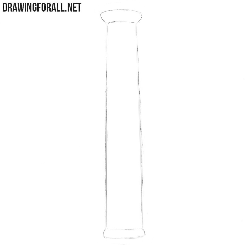 Learn to draw a column