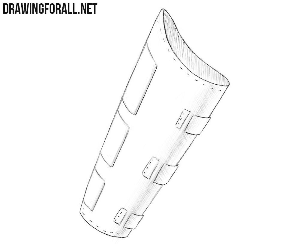 How to draw a bracer