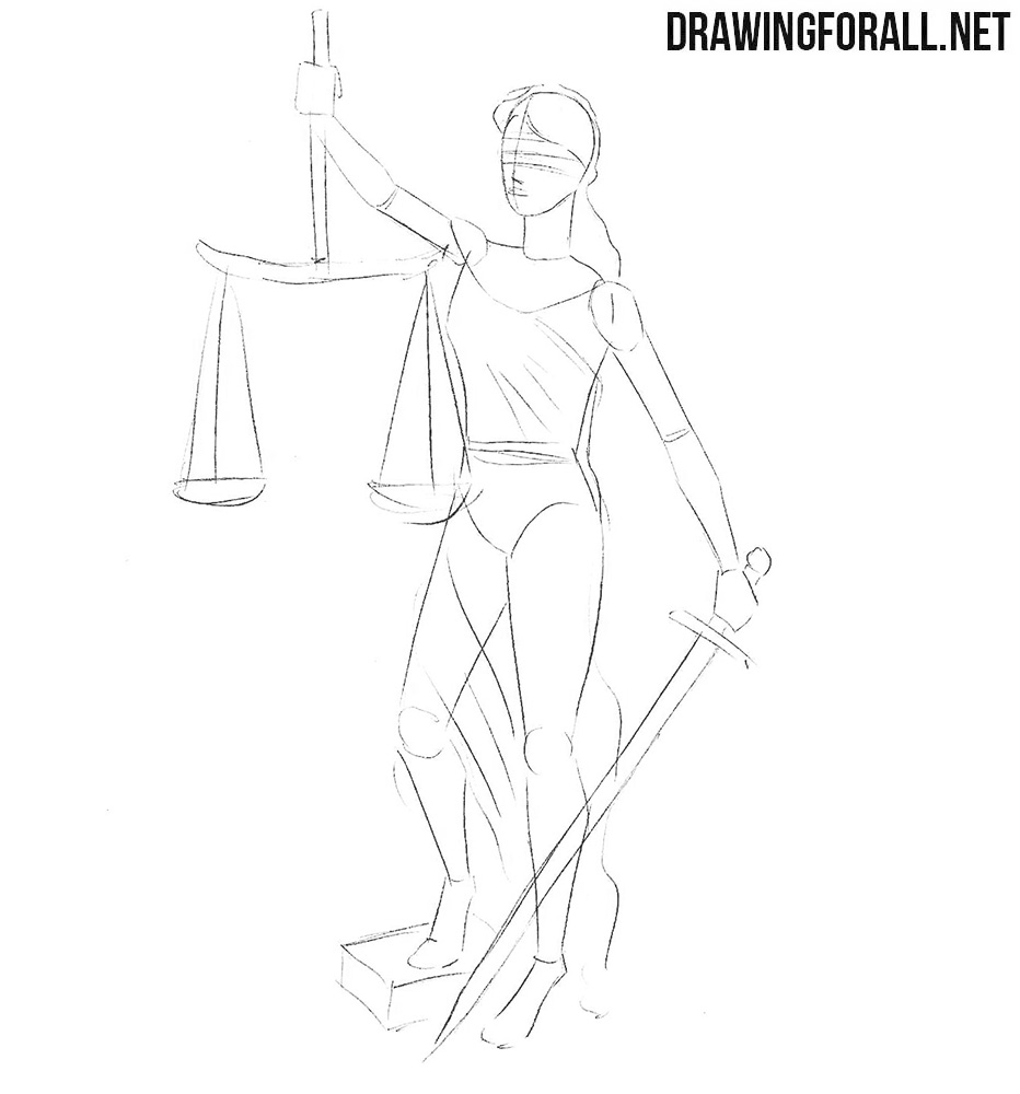 How to draw justice
