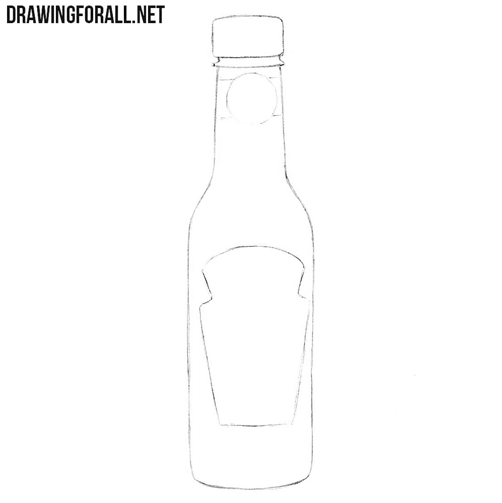 How to draw sauce
