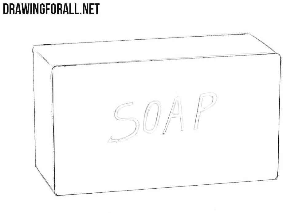 How to sketch a soap