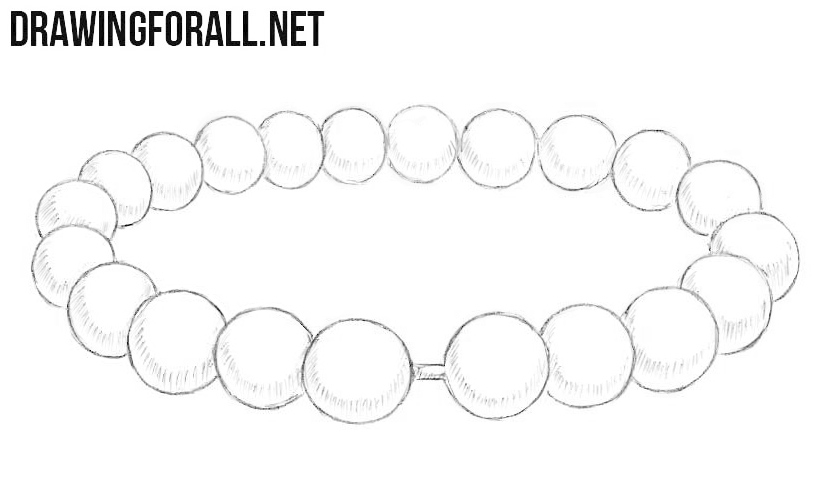 How to draw a bracelet